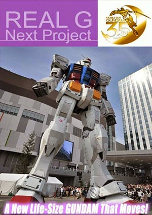 Real G Next Project - The Making of a New 1:1 Scale Real Gundam That Moves!