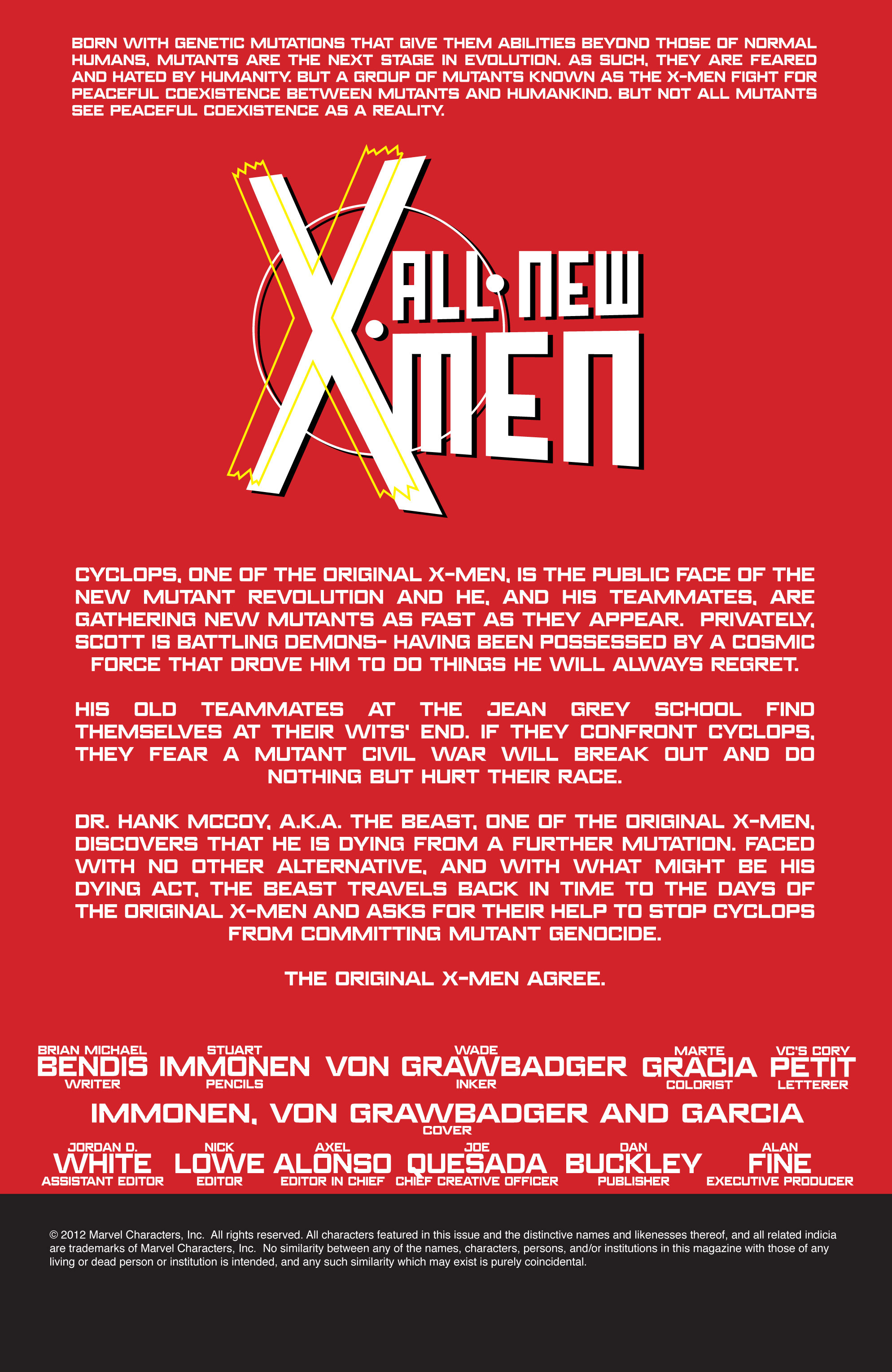 Read online All-New X-Men (2013) comic -  Issue # _Special - Yesterday's X-Men - 47