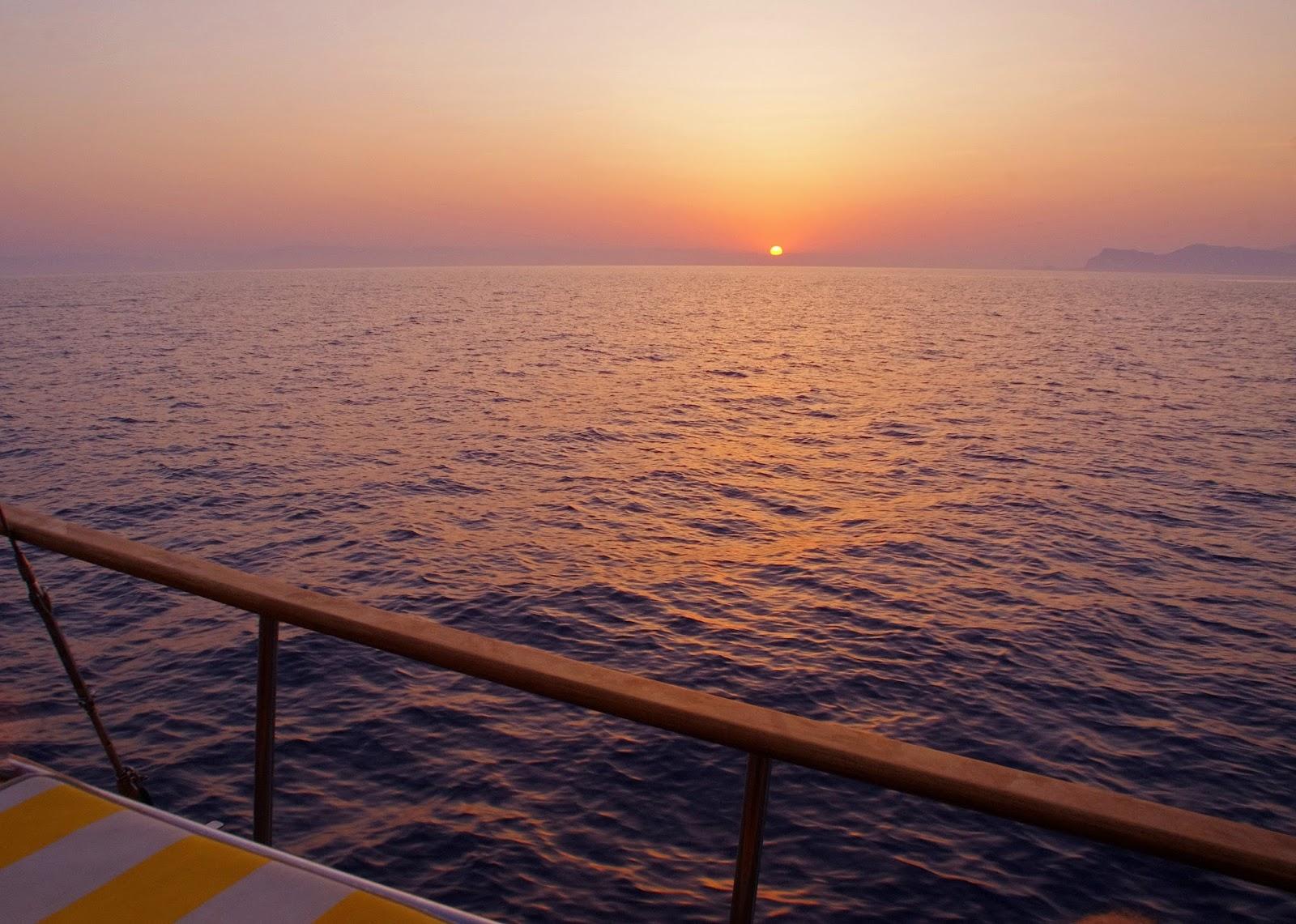 Sailing Sunrise in Turkey