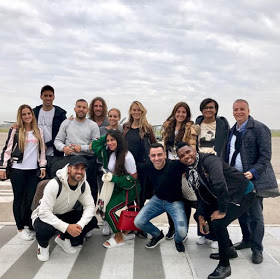 Barcelona stars arrive Argentina for Messi's wedding