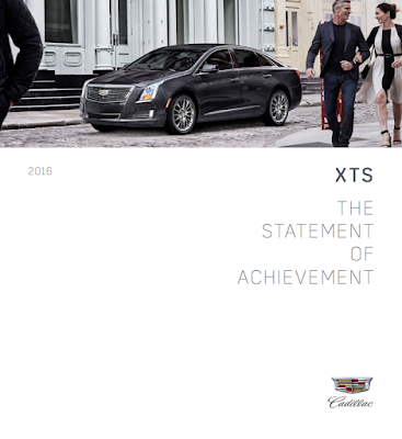 Downloadable 2016 Cadillac XTS Brochure