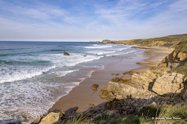 Playa Canallave en el Parque Natural de las Dunas de Liencres - Cantabria, por El Guisante Verde Project