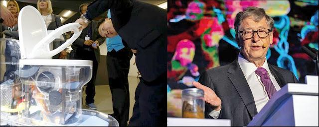 Bill Gates apresenta vaso sanitário do futuro