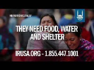 Islamic Relief helping the needy, poor, refugees