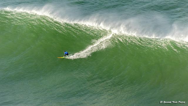 Punta Galea Challenge, Ibon Lopez Iturburu sobre la ola por El Guisante Verde Project