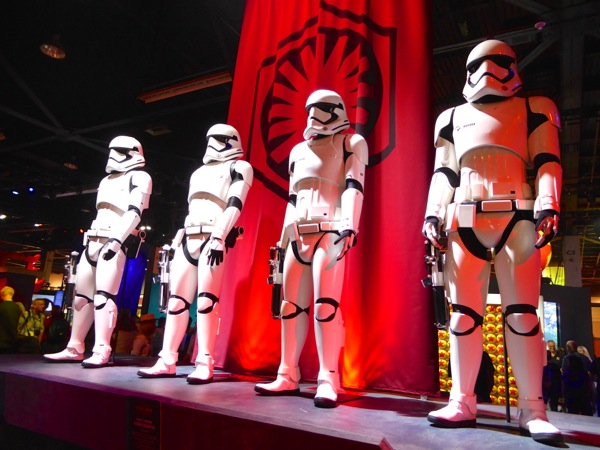 First Order Stormtroopers Star Wars Force Awakens