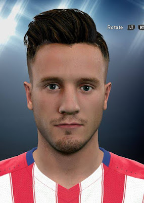 PES 2016 Saul Niguez New Face