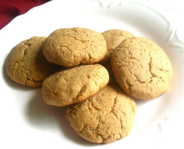 Tahini Ginger Cookies