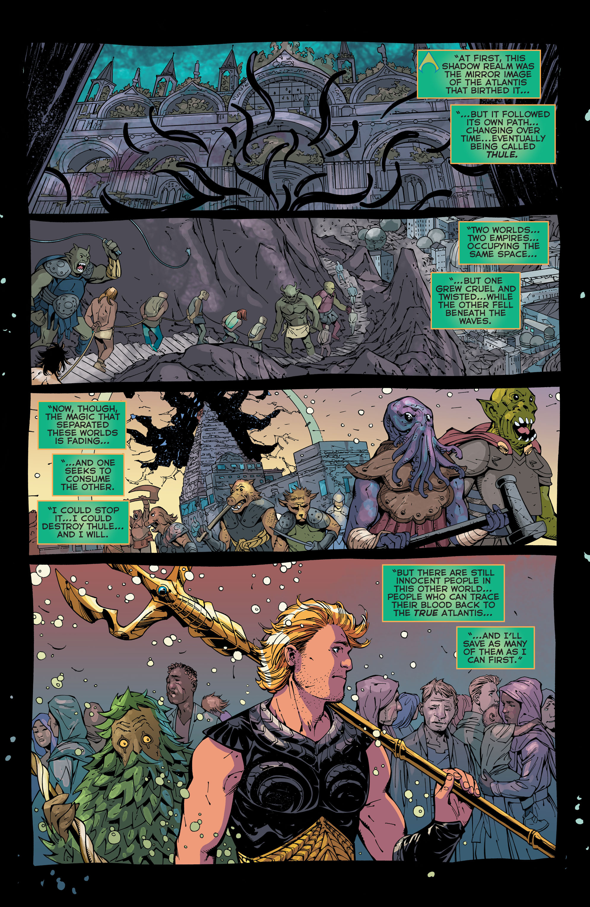 Read online Aquaman (2011) comic -  Issue #44 - 10