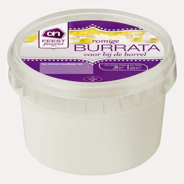 Burrata van AH