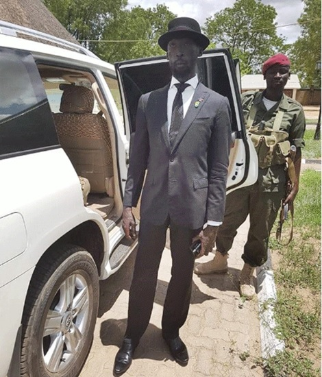 His Dressing, Swagger & Lifestyle is Epic!: Meet South Sudan's Minister for Water & Irrigation (Photos)