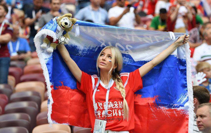 ЧМ-2018: Девушки на Чемпионате мира по футболу
