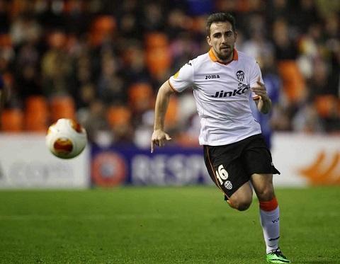 Paco Alcacer là tương lai của câu lạc bộ Valencia.