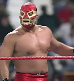 WWF / WWE Royal Rumble 1997 - AAA's luchadores competed in a 3 vs. 3 match