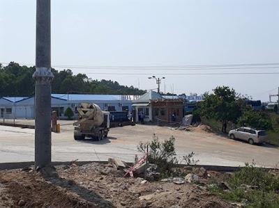 Khu liên hợp sản xuất gang thép Hòa Phát Dung Quất