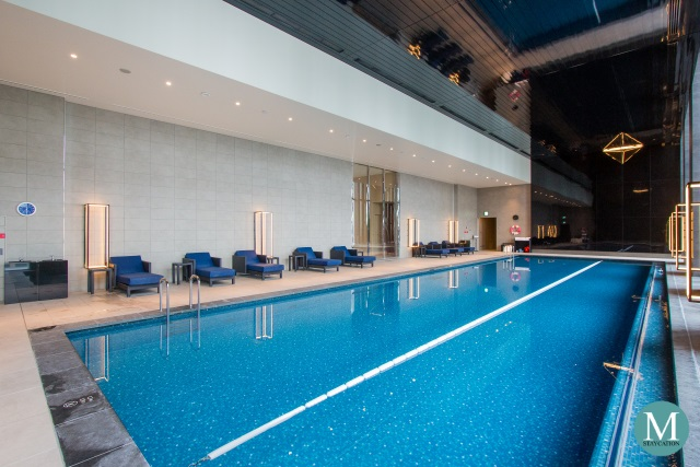 swimming pool at Conrad Osaka