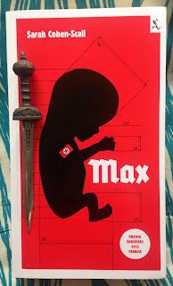 Portada del libro Max, de Sarah Cohen-Scali