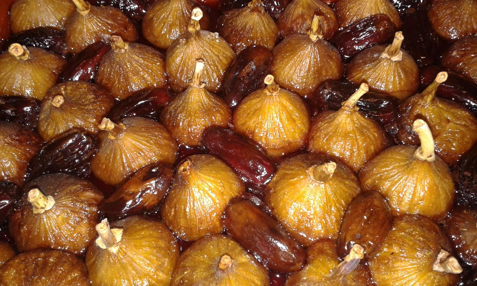 La cuisine de mamyl ne les figues du jardin confites aux dates - Quand cueillir les figues ...