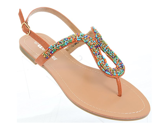 Colorful summer boho hippie sandals under $25.  boho beaded sandals, boho sandals amazon, boho strappy sandals, boho fringe sandals, cheap boho sandals, boho sandals wedding, boho flip flops, boho sandals online, cute sandals for summer, summer sandals sale, cheap womens sandals free shipping, pretty summer sandals, discount sandals, strappy sandals flat, cheap gladiator sandals under 10, hot flat sandals