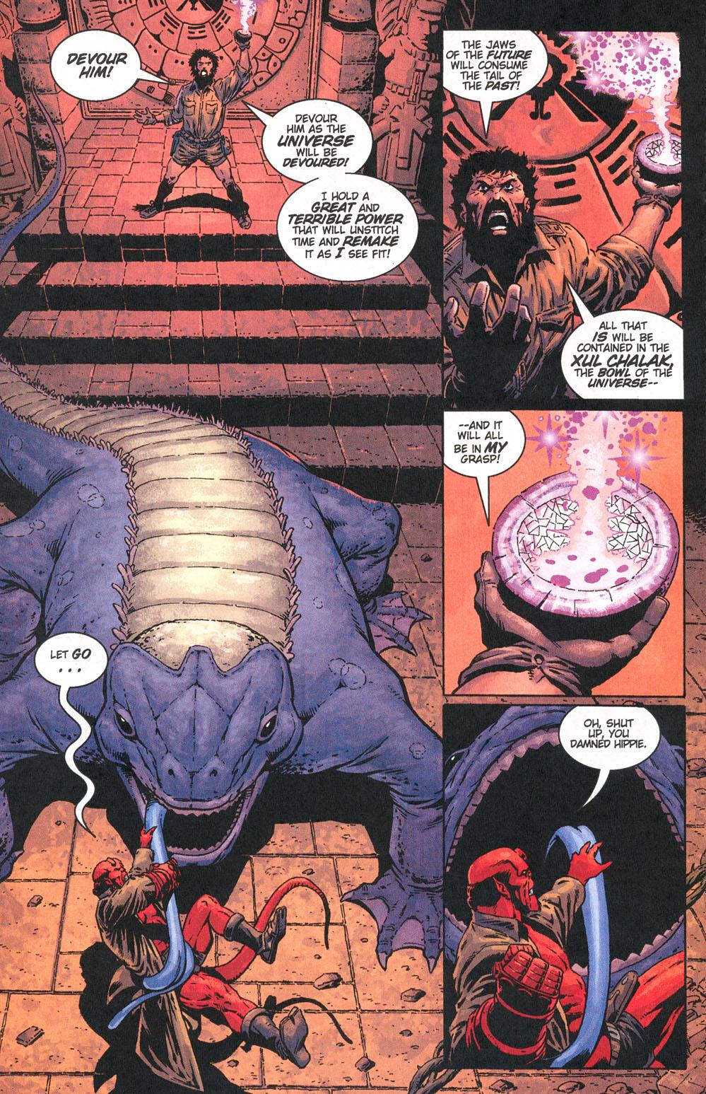 Read online Hellboy: Weird Tales comic -  Issue #5 - 20