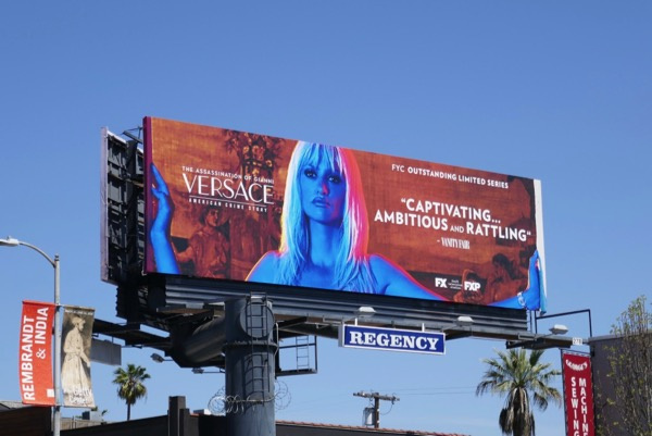 Assassination of Gianni Versace Emmy FYC billboard