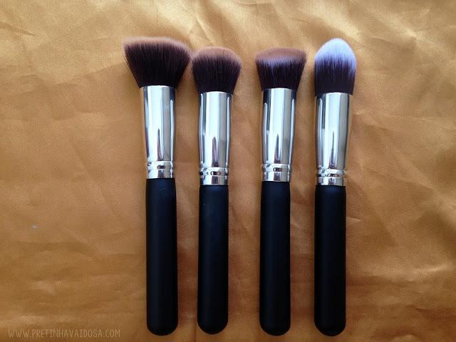 Pincéis de maquiagem do Aliexpress
