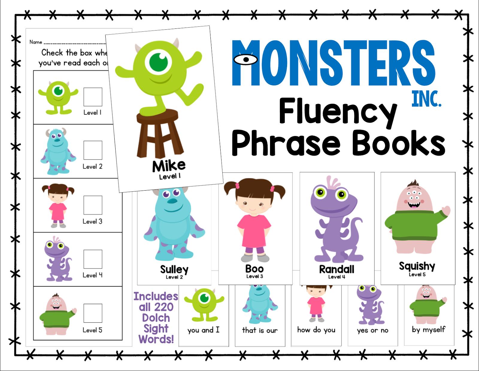 Fluency Phrase Books