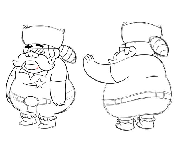 Gravity Falls Personajes Para Colorear: The Polarkeet Den: Gravity Falls Dump 2