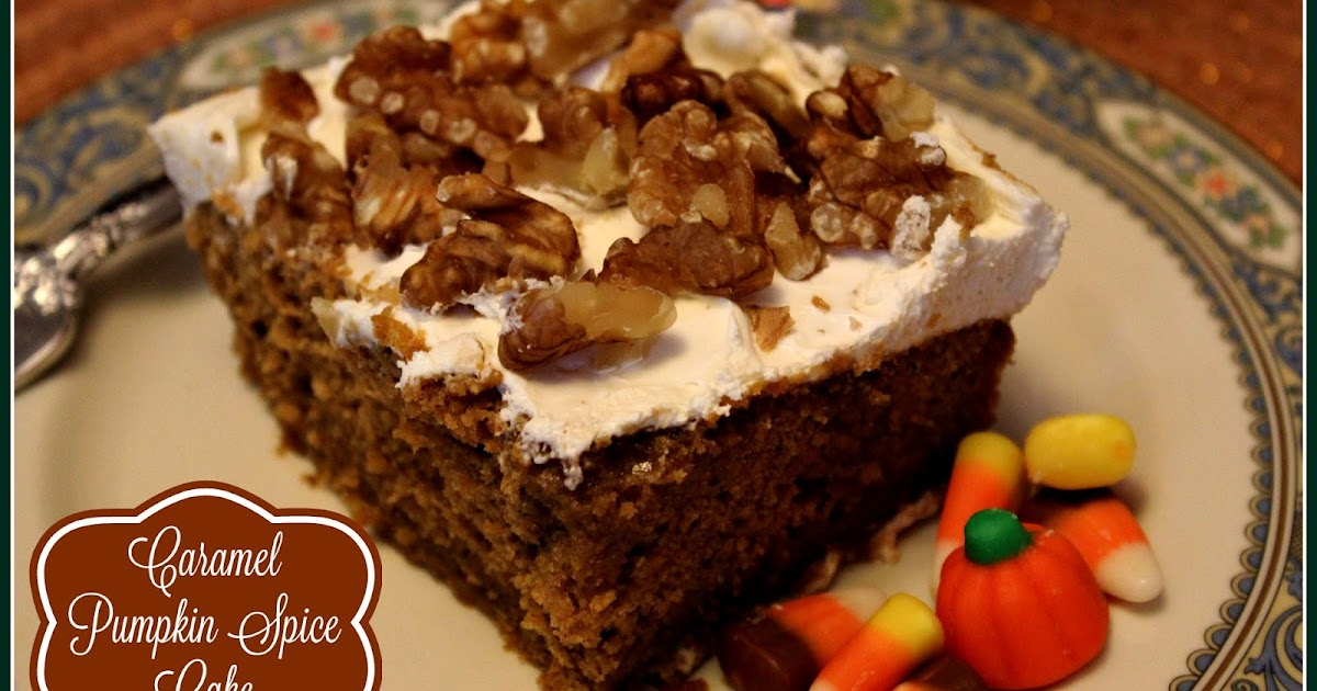 Duncan Hines Spice Cake And Canned Pumpkin