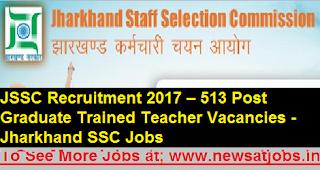 jssc-pgt-tgt-513-Recruitment-2017