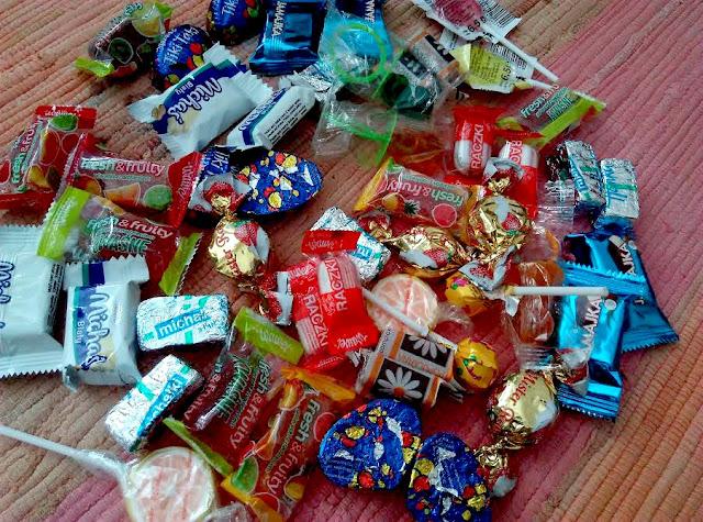 kalendarz adwentowy ze smakołykami