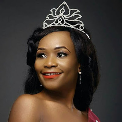 Tears As Nigerian Beauty Queen's Fiance Dies Shortly After She Missed His Call