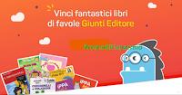 Logo Tau-Marin e Dentini da Favola: gioca gratis e vinci 400 libri per bambini Giunti