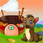 G4K Baby Hyena Rescue Game