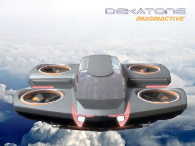dekatone electric flying car