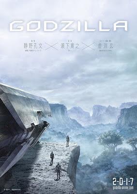 Póster de Godzilla: Monster Planet