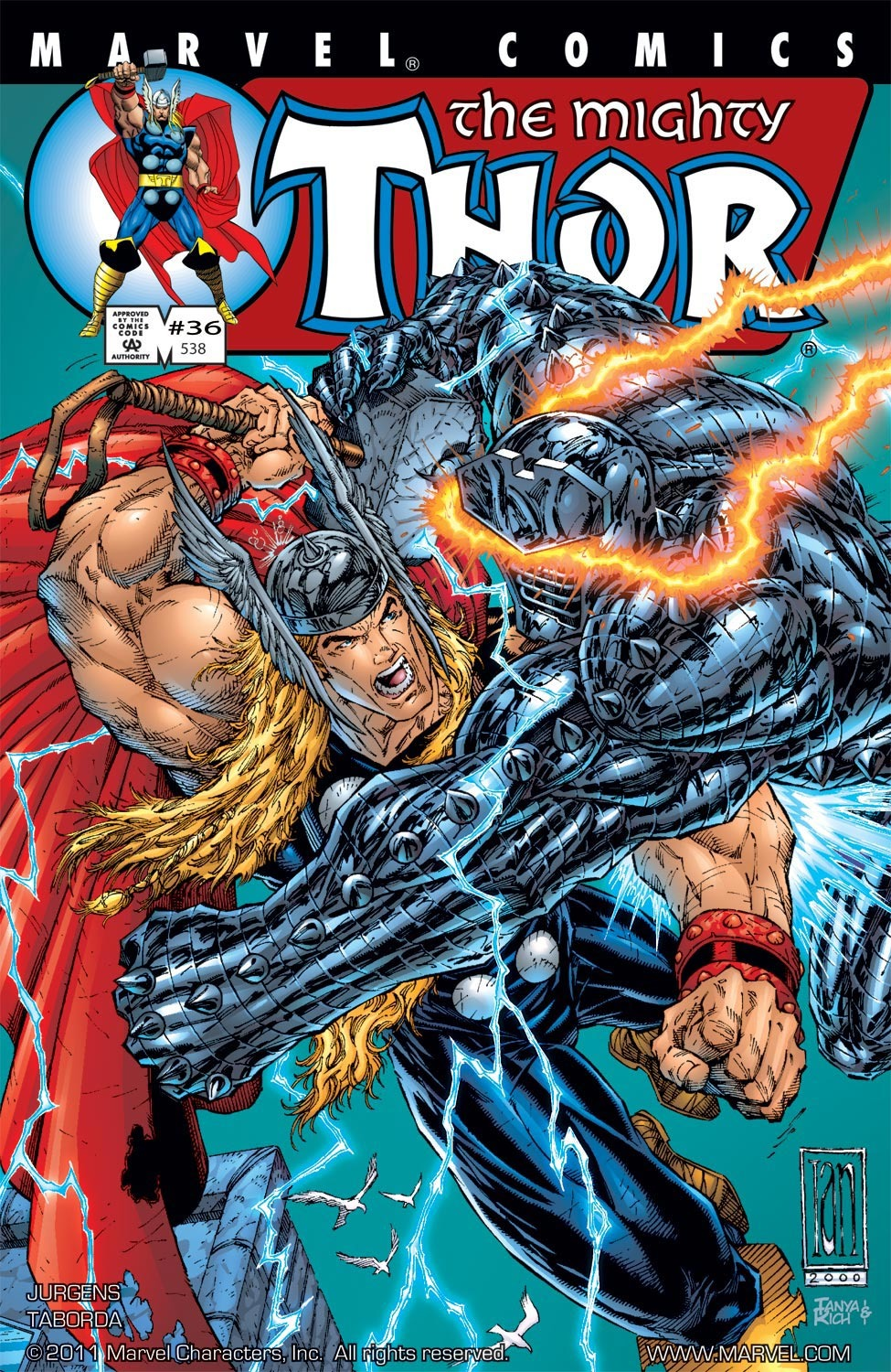 Thor (1998) Issue #36 #37 - English 1