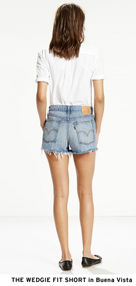 Wedgie Fit Jean Short