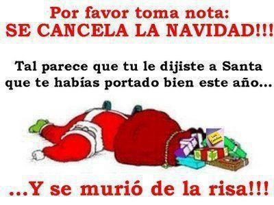 Humor frases Navidad