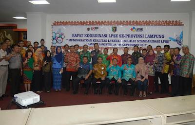 Kabupaten Lampung Timur dan Tulang Bawang Raih Penghargaan LPSE
