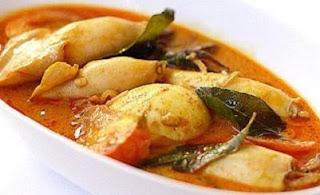 Resep Masakan Dan Cara Membuat Gulai Cumi Pedas Dan Nikmat