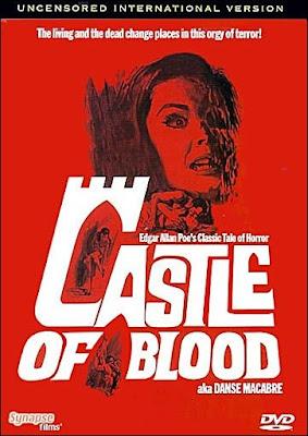 Danza Macabra / La Lunga Notte de Terrore aka Castle of Blood (1964) / Carátula DVD Importación