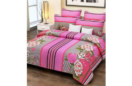 Home Candy 144 TC 100% Cotton Double Bed Sheet For Rs 499 (Mrp 1600) Amazon