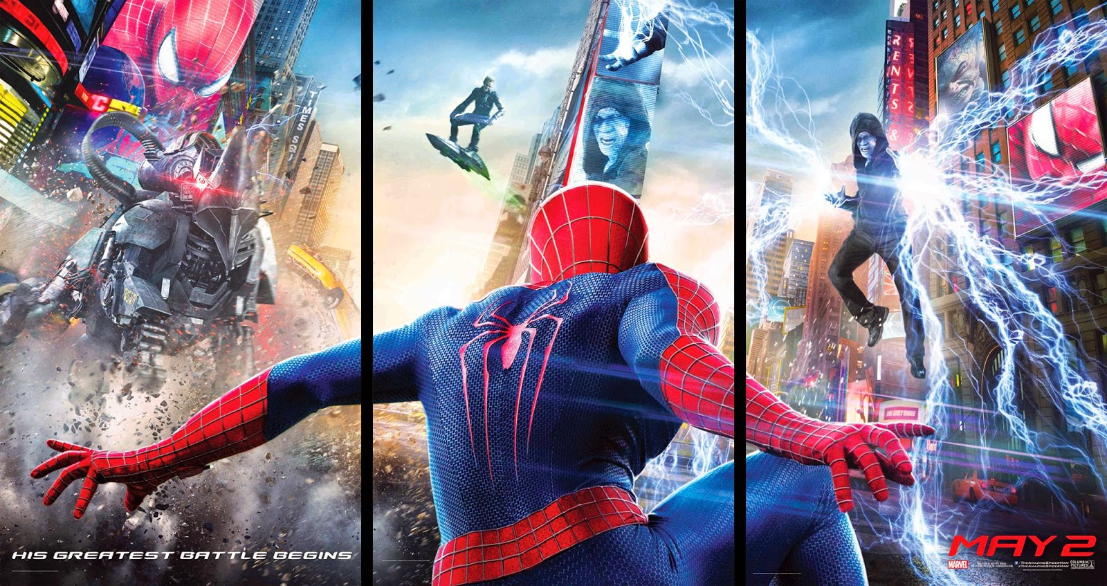The Amazing Spider-Man 2 Is No Record Setter