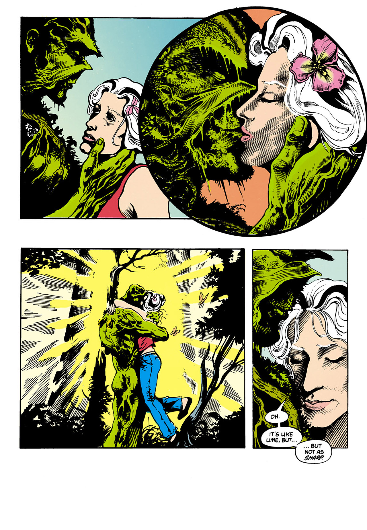 Swamp Thing (1982) Issue #34 #42 - English 8