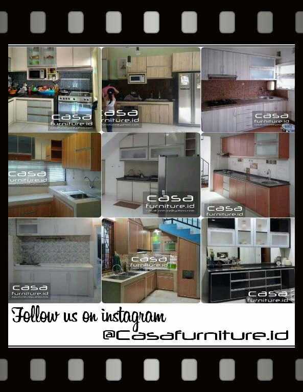 Kitchen Set Sederhana Tangerang Furniture Minimalis Tangerang