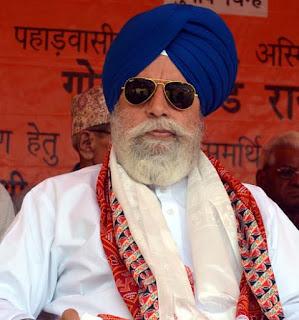 Darjeeling MP Surendra Singh Ahluwalia