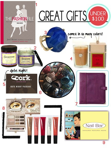 West Village Blog Great Gifts Under 100