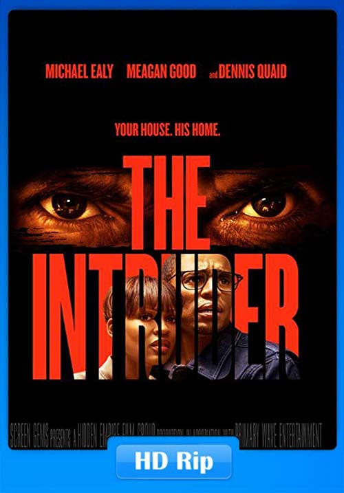 The Intruder 2019 720p WEBRip x264 | 480p 300MB | 100MB HEVC Poster