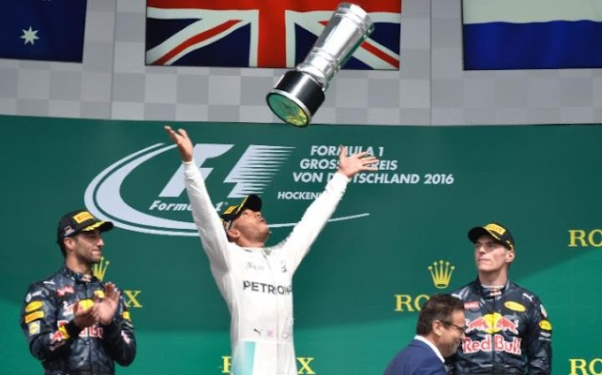 Prix 2016: Lewis Hamilton storms to victory at Hockenheim after Nico Rosberg suffers horror start